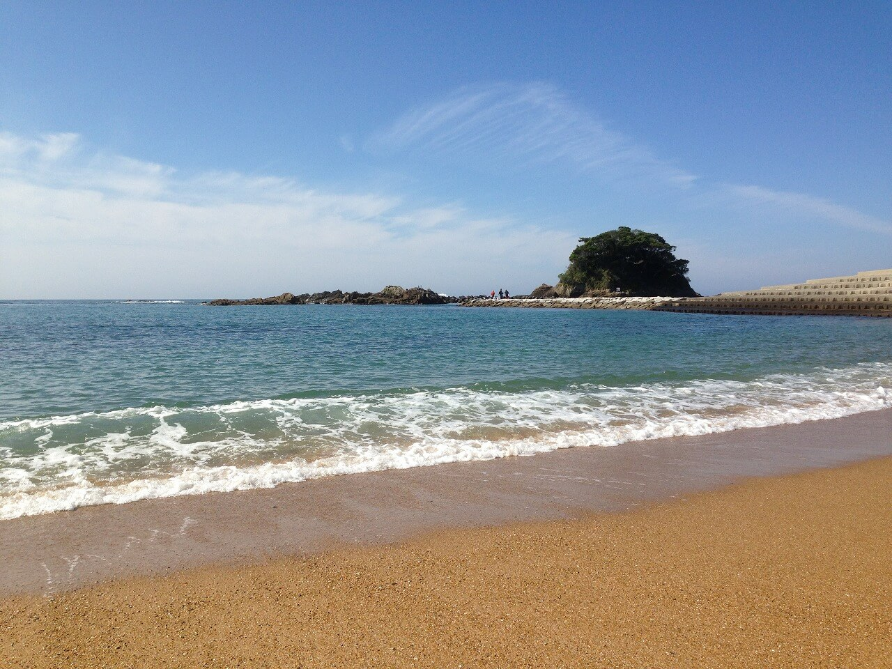 ②(圧縮)あずり浜
